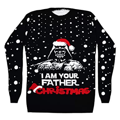 c1e2fb2998a5 Vanilla Inc® I AM Your Father Christmas Ladies   Mens Season Star ...