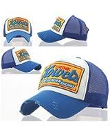 Drink Howel's Distressed Vintage Cotton Baseball Mesh Cap Snapback Trucker by Brooklyn Supply Co.