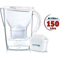 Brita Marella XL MX+ Filtreli Su Arıtmalı Sürahi, Beyaz