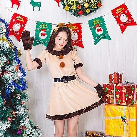 Shisky Disfraz de Navidad Adulto, Navidad Traje Adulto ...