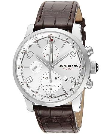 769a1220d8 [モンブラン]MONTBLANC 腕時計 TIME WALKER UTC シルバー文字盤 自動巻き 107065 メンズ 【