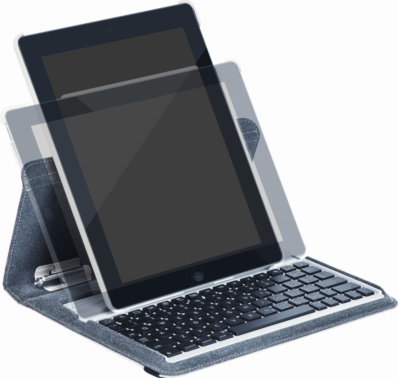 Targus Versavu Rotating Keyboard Case and Stand for iPad 3 and 4, Bone White (THZ171US) by Targus (Image #10)