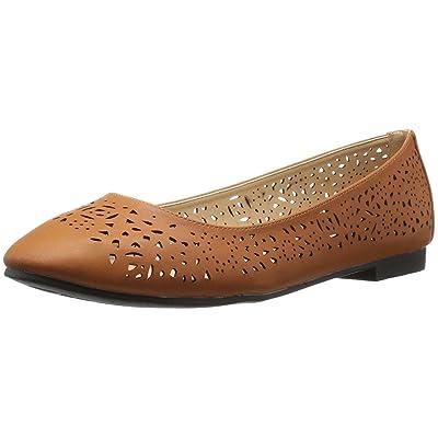 Amazon.com | Annie Shoes Women's Esteppe Wide Calf Flat | Flats