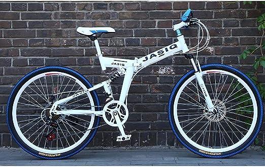 F-JWZS Bicicleta de Montaña para Hombre, 26 Pulgadas Doble ...