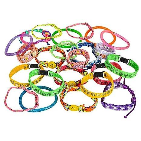 matériau sélectionné San Francisco qualité authentique Amazon.com: Assorted Colorful Bracelets – 72 Pieces Bangles ...