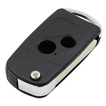 Carcasa de llave de coche plegable con 2 botones para Honda ...