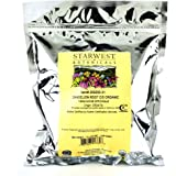 Starwest Botanicals Organic Dandelion Root Tea [1 Pound] Bulk Cut & Sifted (C/S) Loose Tea