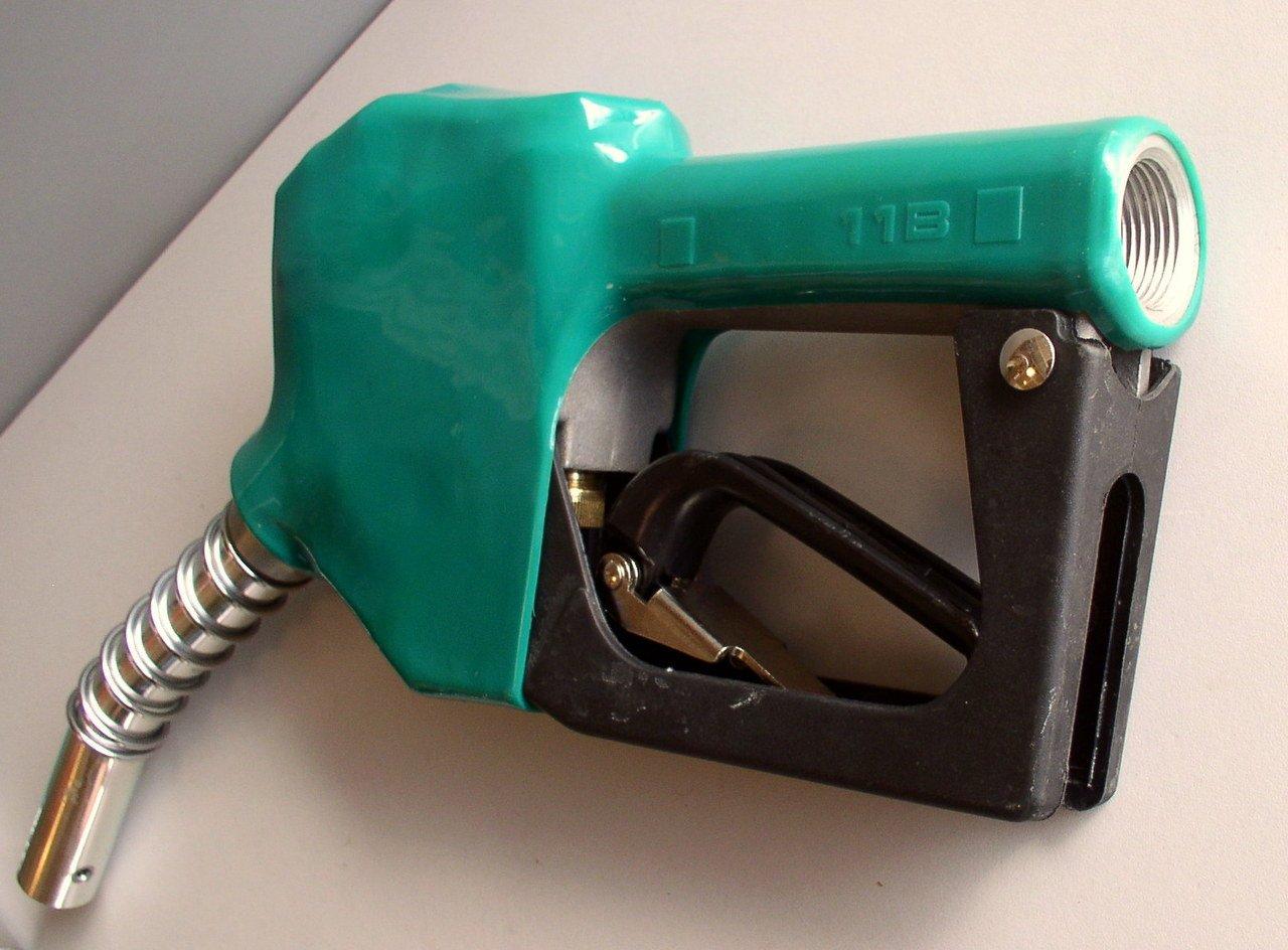 11B Diesel Spout Automatic Fuel Nozzle Green