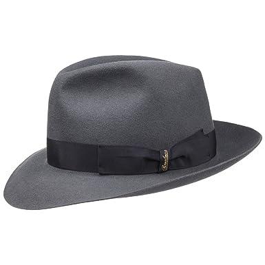 Borsalino Sombrero Fedora 50 Gramos by Sombreros de fieltrosombrero Hombre  (62 cm - Gris) 44bc4ecab628