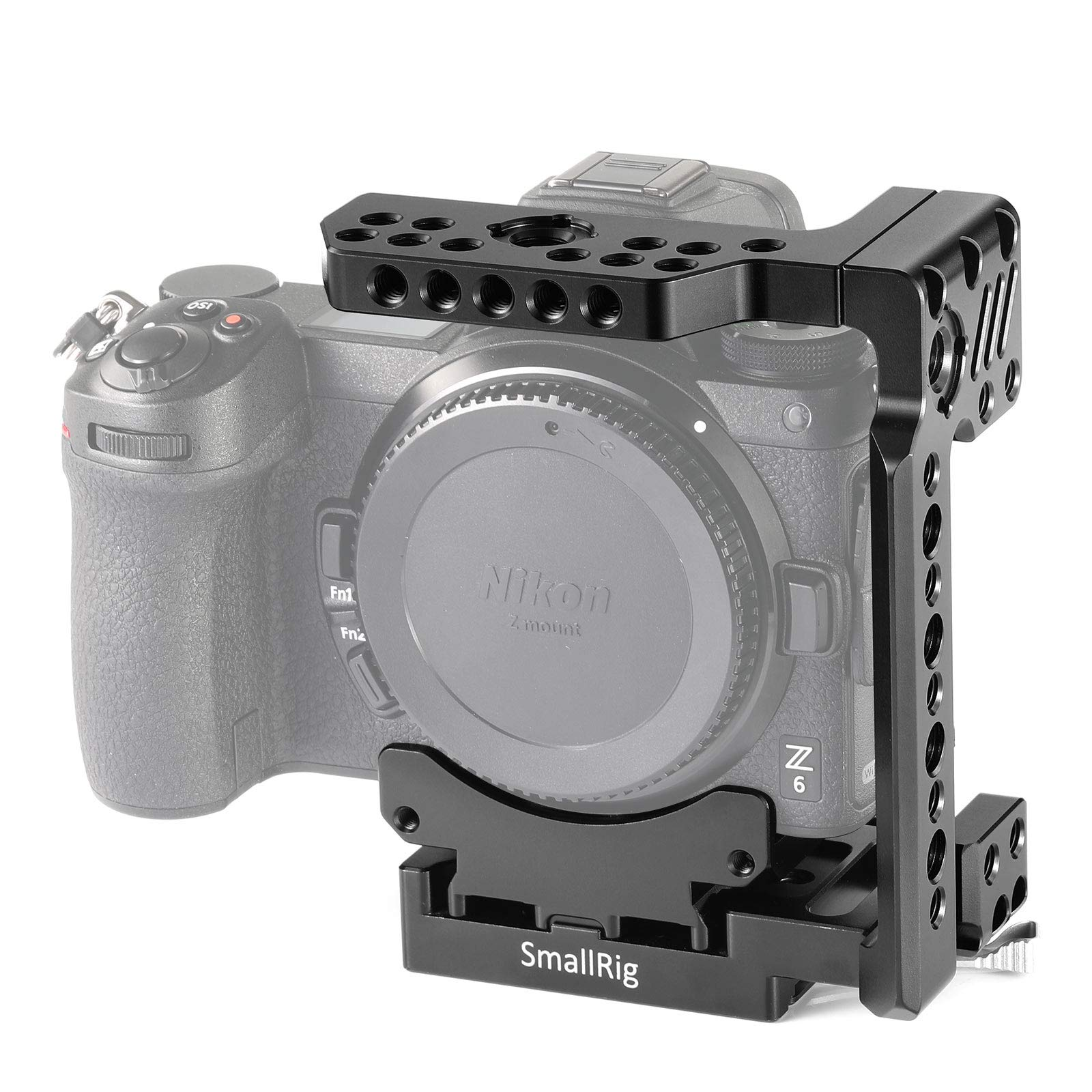SMALLRIG Quick Release Half Cage for Nikon Z6 and Z7 2262 by SMALLRIG