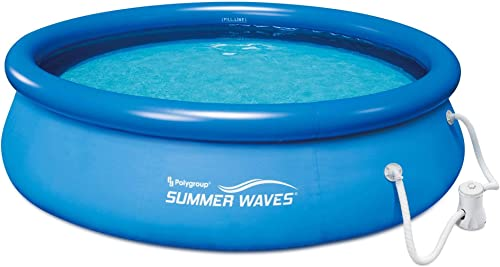 Summer-Waves-10ft-x-30in-Quick-Set-Inflatable-Above-Ground-Pool-with-Filter-Pump