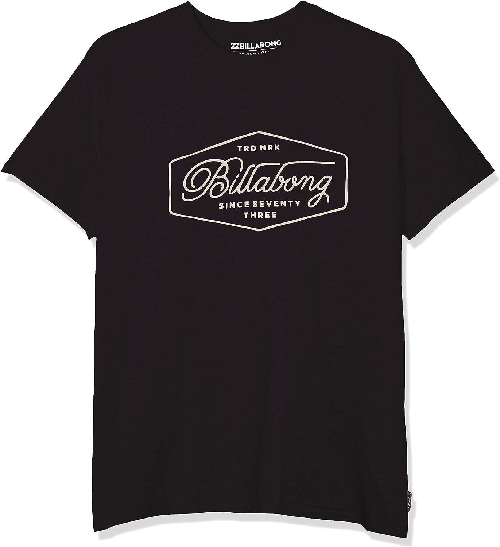 BILLABONG Trademark tee SS Camiseta para Hombre