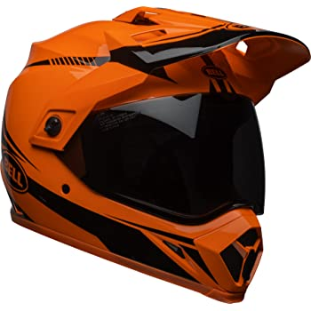 Bell MX-9 Adventure MIPS Off-Road Motorcycle Helmet (Gloss Hi-Viz Orange/Black Torch, X-Large)