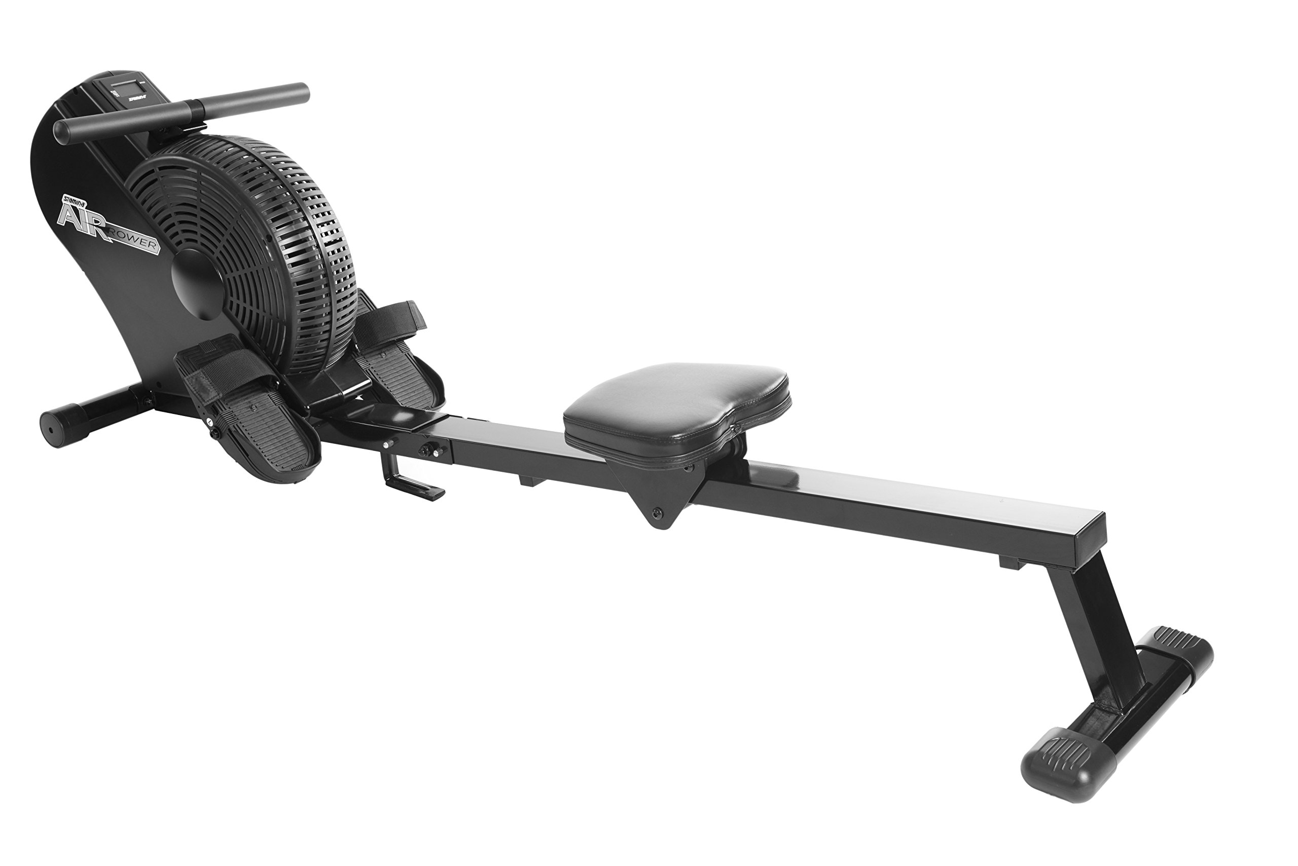 Stamina ATS Air Rower | Rowing Machine | LCD Monitor | Dynamic Air Resistance | Folding Design | Tone Muscle and Improve…