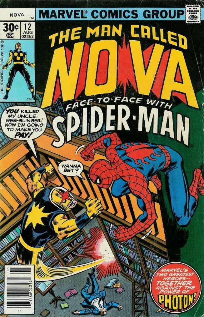 Nova (1st Series) #12 FN ; Marvel comic book