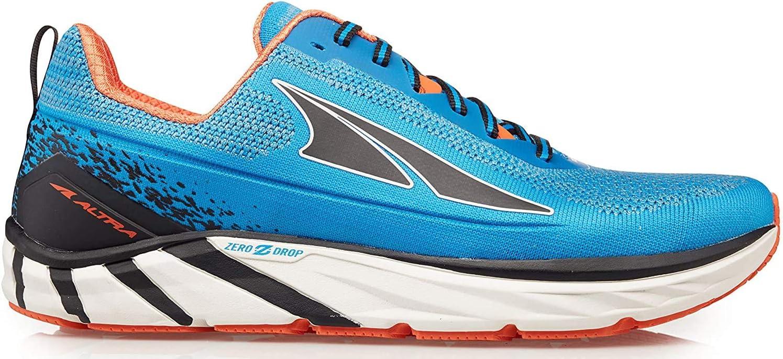 Altra Men's Torin 4 Plush Road Running Shoe Blue/Orange