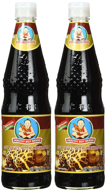 Healthy Boy Brand Mushroom Soy Sauce, 23.5 Ounce (5369-1)