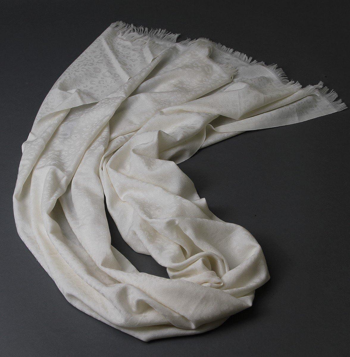 prettystern 200 cm XL Sciarpa Pashmina 100/% Lana Delicato Morbida Stola Donna Tigrata Discreta