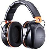 Ear Defenders Adult, Tacklife HNRE1 Noise Canceling Ear Muffs 34dB SNR for Shooting, Construction or Yard Work