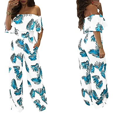 57aac8b1982 Image Unavailable. Image not available for. Color  Rompers Womens Jumpsuit  2018 Summer Sexy Women s ...