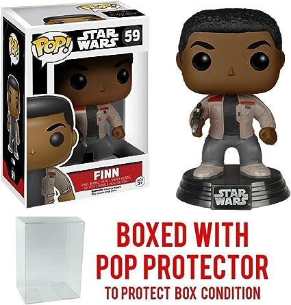 Vinyl Star Wars E7 Finn #59 with pop protector FUNKO Pop