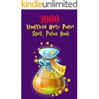 3000 Harry Potter Unofficial Spell and Potions books