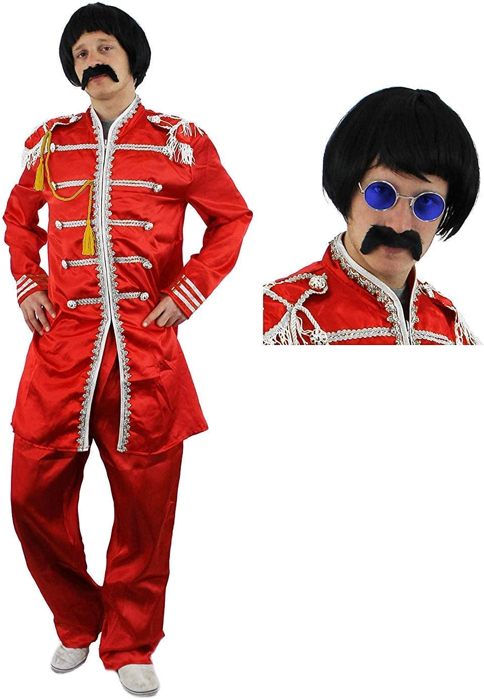 I LOVE FANCY DRESS LTD Disfraz de Sargento Pop, Bandas de Rock de ...