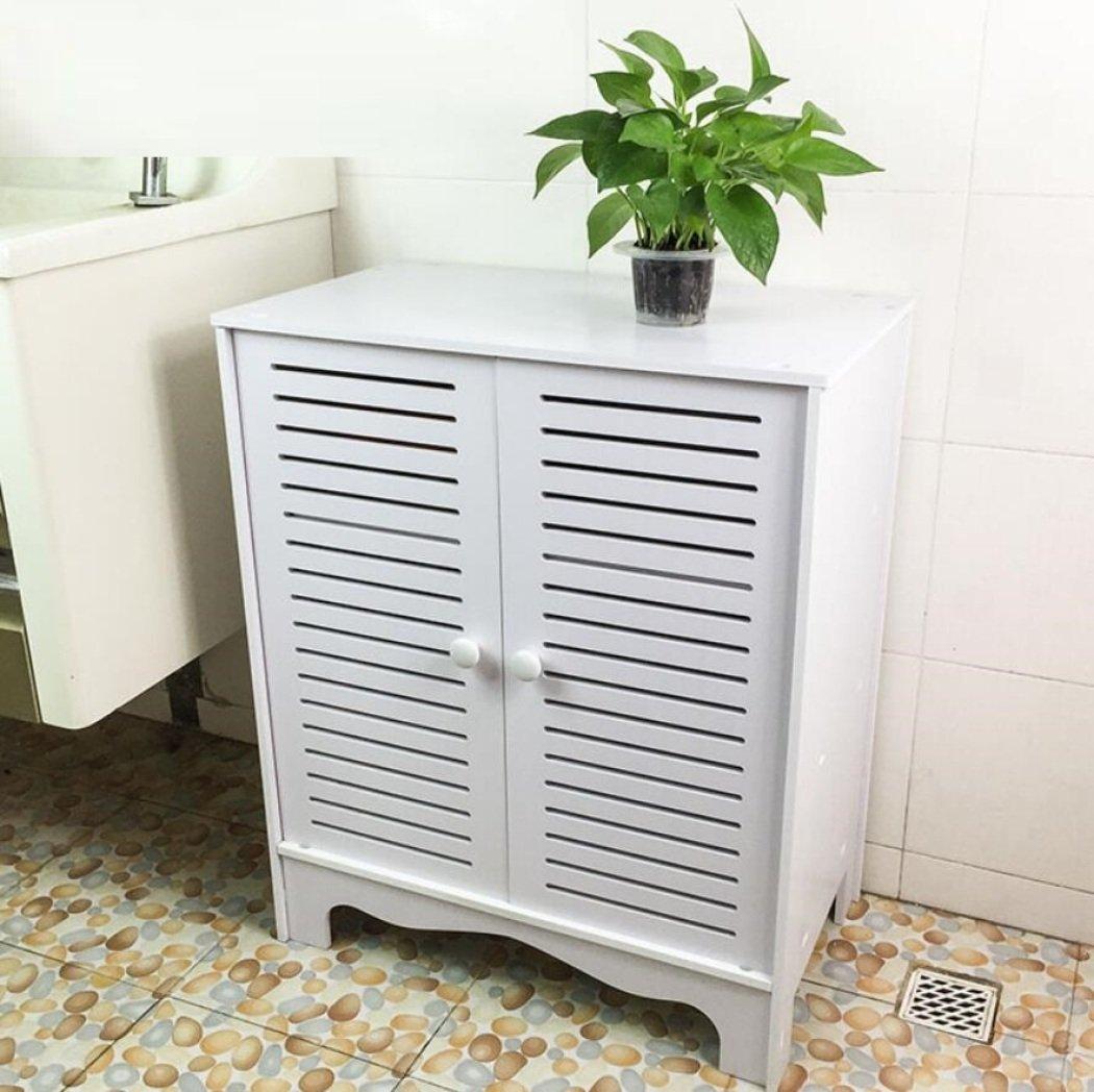 GL&G Bathroom Furniture Side cabinet waterproof cabinets Toilet side cabinet Home, Hotel kitchen Bedroom Floor Cabinets,30cm