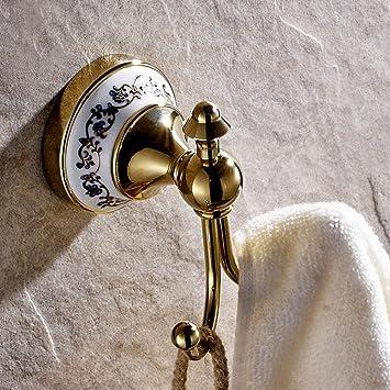 Bl Continental Antik Badezimmer Kupfer Gold Single Haken