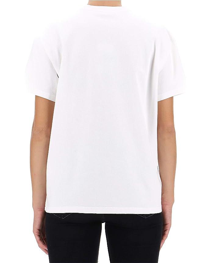 Kenzo Mujer F862TS75898501 Blanco Algodon T-Shirt: Amazon.es: Ropa y accesorios