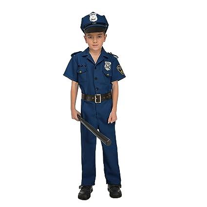 My Other Me Me-204239 Disfraz de policía para niño, 7-9 años (Viving Costumes 204239