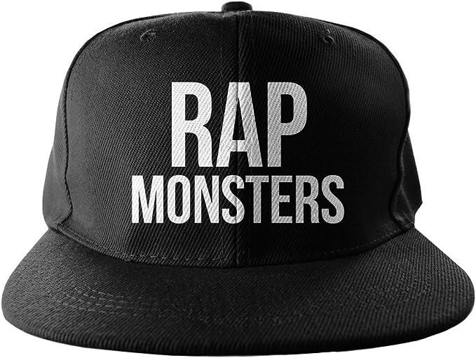 Rap Monsters Swag Hip Hop impresión Snapback Sombrero Gorra ...