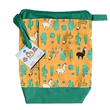 Amazon.com: Lil Helper - Bolsa para pañales (impermeable): Baby