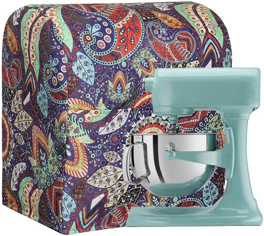 Stand Mixer Cover, Dust-Proof Kitchen Aid Mixer Covers, Waterproof Kitchen Organizer Bag with Storage Pocket (Color #B)