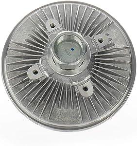 IRONTEK 2793 2794 Engine Cooling Fan Clutch fits FORD 98-03 E-150 E-250 E-350, 00-02 E-450, 99-03 ECONOLINE, 91-97 EXPLORER, FIS MAZDA 94-97 B4000, 91-84 NAVAJO Radiator Fan Clutch 22166 6L2Z8A616-BA