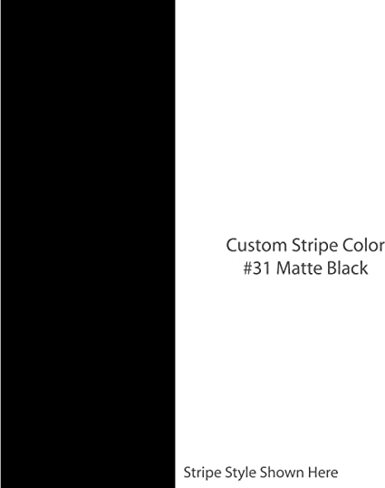 GLOSS BLACK PLAIN  SUN STRIP CAR DECALS GRAPHICS