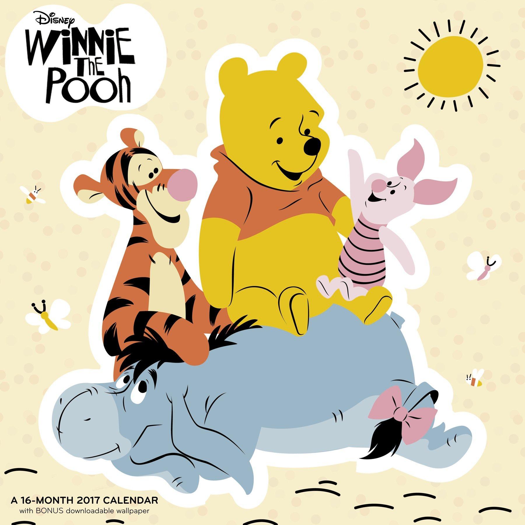 Winnie the Pooh Wall Calendar (2017): Mead: 0038576157279: Amazon ...