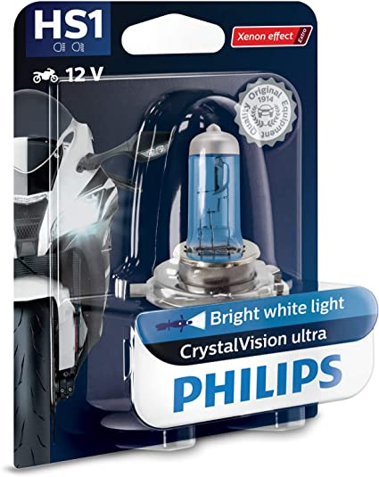Oferta amazon: Philips automotive lighting 12636BVBW CrystalVision Ultra HS1 lámpara Faro de Moto, 1 Unidad