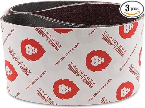 Red Label Abrasives 4 X 36 Inch 36 Grit Aluminum Oxide Premium Quality Metal Sanding Belts 3 Pack Sander Belts Amazon Com Industrial Scientific