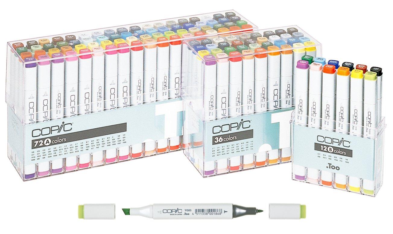 Copic Marker 72 colores