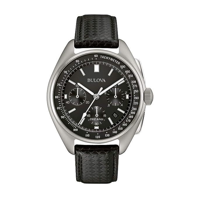508c40fd9 Bulova 96B251 Reloj Lunar Pilot para Hombre  Amazon.com.mx  Relojes