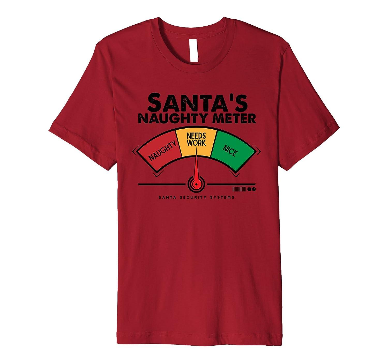 Santa Needs Work Meter Funny Christmas Shirt for Adults Kids-ANZ ...