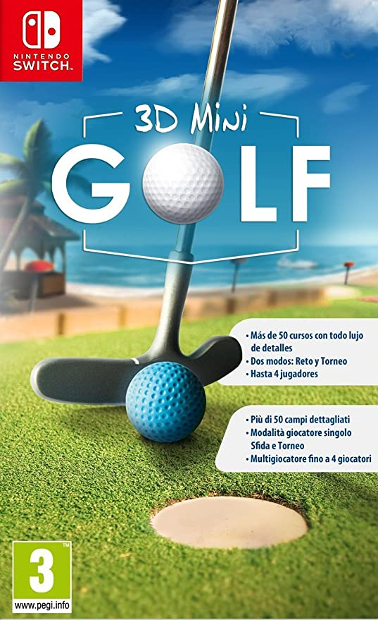3D Mini Golf: Amazon.es: Videojuegos