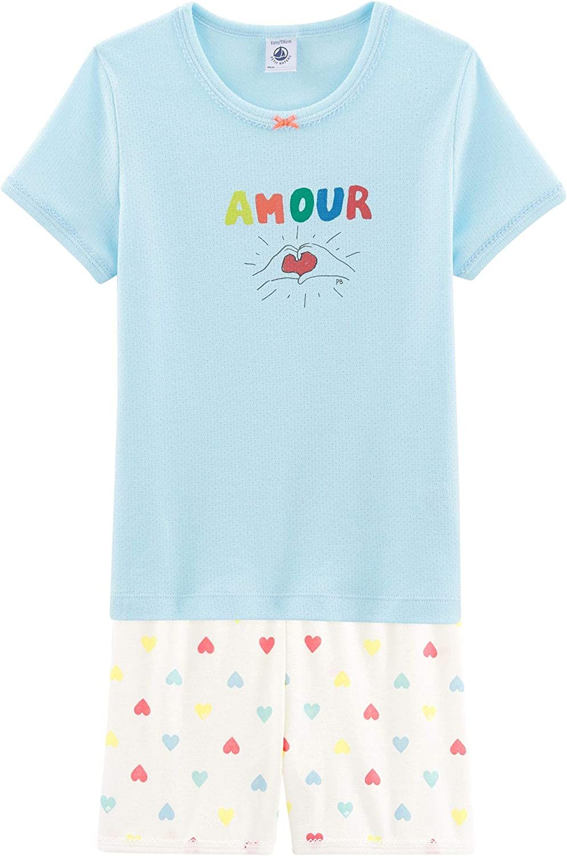 Petit Bateau 5347702 Bas de pyjama Multicolore Fille