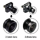 Crazepony RunCam Swift 600TVL FPV Camera 2.1mm Lens OSD DC 5-17V IR Blocked for Multicopter