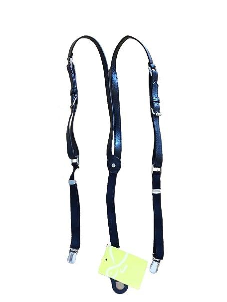 pacchetto elegante e robusto qualità del marchio rivenditore all'ingrosso Carpisa Bretelle donna nero cintura: Amazon.it: Abbigliamento
