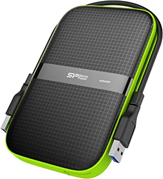 Silicon Power 2TB Rugged Armor A60 USB 3.0 Portable Hard Drive