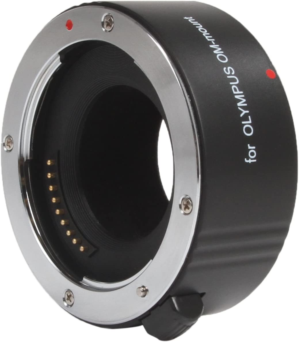 Metal Mount Movo Photo AF 25mm Macro Extension Tube for Olympus EVOLT Four-Thirds Mount DSLR Camera