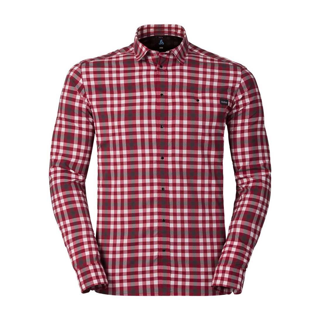 Odlo Herren Shirt L//S Fairview Hemd