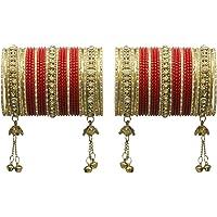 Much More Ethnic Punjabi Style Wedding Wear Latkan Bangle